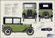 Austin Seven Top Hat R Saloon 1927