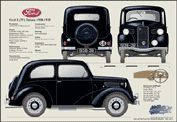 Ford 8 (7Y) Deluxe 1938-39
