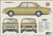 Ford Corsair Deluxe 1963-70