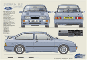 Ford Sierra RS Cosworth 1986-92