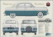 Ford Zephy Six 1951-56