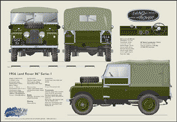 Land Rover Series One 1954-56