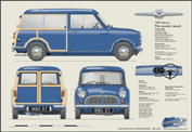 Morris Mini Traveller (Wood) 1960-67