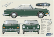 VW Karmann Ghia 1962-69