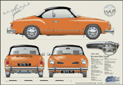 VW Karmann Ghia Coupe 1970-71
