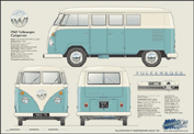 VW Campervan 1950-67