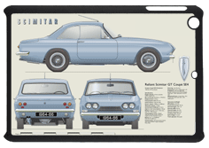 Reliant Scimitar GT Coupe SE4 1964-66 Small Tablet Covers