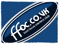 Ford Focus Owners Club Glass Cloth