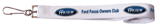 Ford Focus Owners Club Lanyard