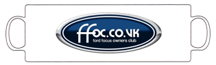 Ford Focus Owners Club Standard Mug
