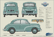 Morris Minor Series II 2dr saloon 1952-54