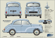 Morris Minor 2dr Saloon 1965-70
