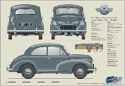 Morris Minor Series MM 1951-52