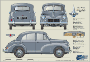 Morris Minor 4dr saloon 1952-54