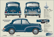 Morris Minor 4dr Saloon 1965-70