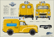 Morris Minor Post Office Telephone Van 1968-71