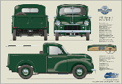 Morris Minor Pickup Series II 1953-54