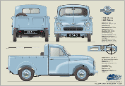 Morris Minor Pickup Series II 1954-56