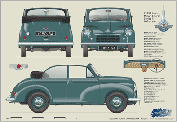 Morris Minor Tourer Series II 1952-54