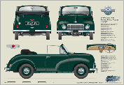 Morris Minor Tourer Series MM 1949-51