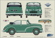 Morris Minor Tourer Series MM 1950-52