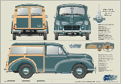 Morris Minor Traveller Series II 1953-56