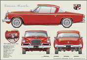 Studebaker Power Hawk 1956